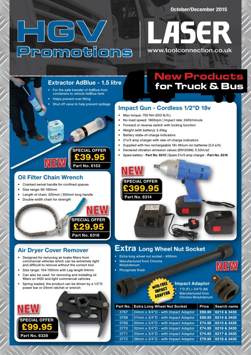 Laser Tools HGV Promotion